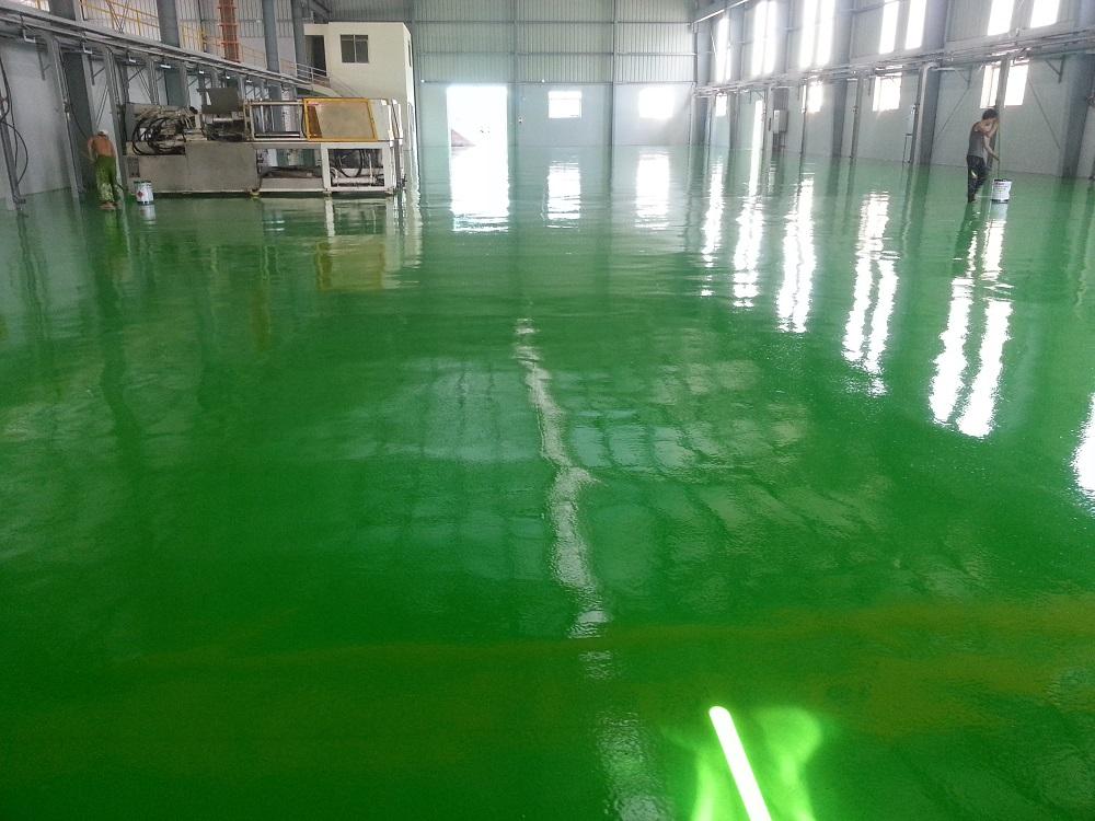 Hướng dẫn thi công sơn epoxy theo quy trình chuyên nghiệp